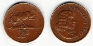 2 цента 1965 года