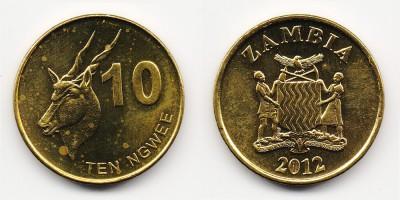 10 ngwee 2012