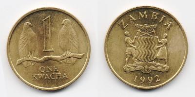 1 kwacha 1992