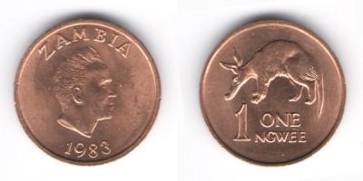 1 ngwee 1983
