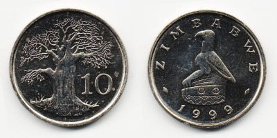 10 cents 1999