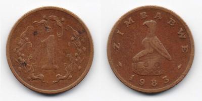 1 cent 1983
