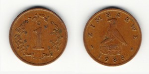 1 цент 1988 года