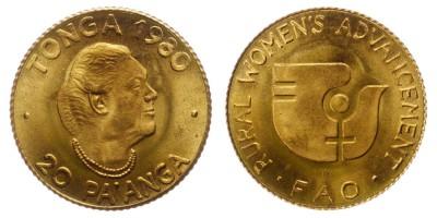 20pa'anga 1980