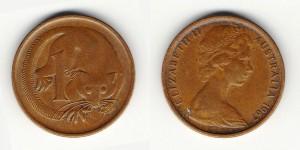 1 цент 1967 года