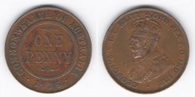1 penny 1935
