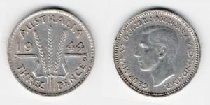 3 пенса 1944 года