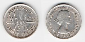 3 пенса 1963 года