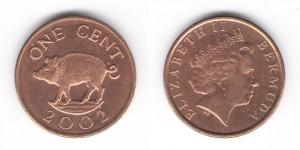 1 центы 2002 года
