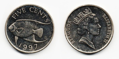 5 cents 1997