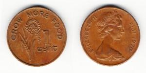 1 цент 1977 года