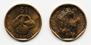 1 доллар 2010 года Погремушка
