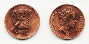 2 цента 1992 года