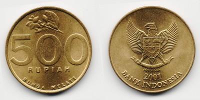 500 rupiah 2001