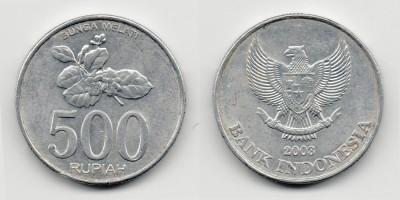 500 рупий 2003 года