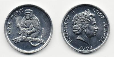 1 cent 2003 Monkey