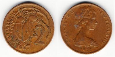 2 цента 1972 года