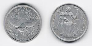 1 франк 1977 года