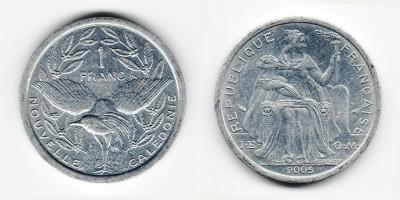 1 franc 2005