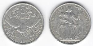 5 франков 1986 года