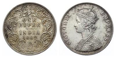 1rupee 1882