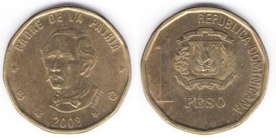 1 песо 2008 года