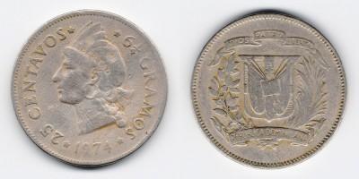 25 centavos 1974
