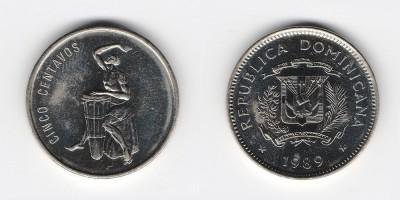 5 centavos 1989