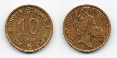 10 cents 1989