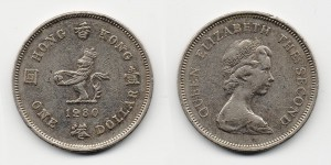 1 доллар 1980 года