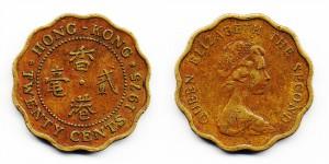 20 центов 1975 года