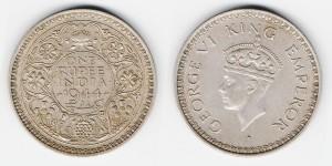 1 рупия 1944 года