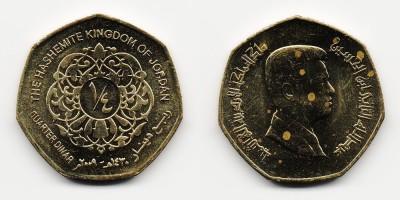 ¼ dinar 2009