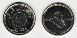 100 динаров 2004 года