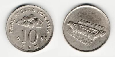 10 sen 1993