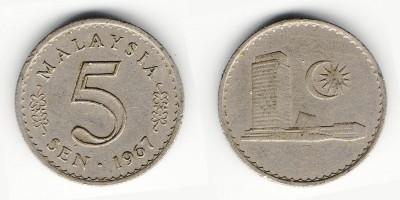 5 sen 1967