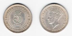 5 центов 1945 года