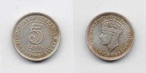 5 центов 1943 года
