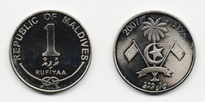1 rufiyaa 2007