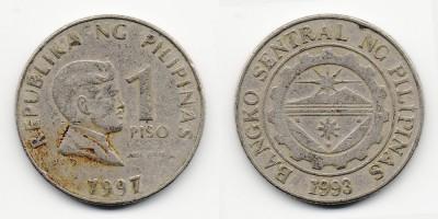 1 песо 1997 года