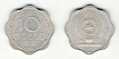 10 cêntimos 1978