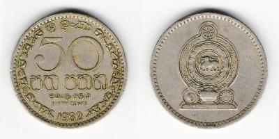 50 cêntimos 1982