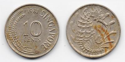 10 центов 1981 года