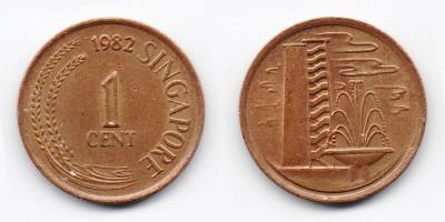 1 цент 1982 года