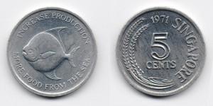 5 центов 1971 года