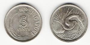 5 центов 1979 года