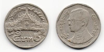 5 бат 1988–2009 года