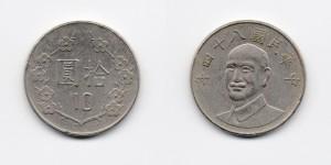 10 юаней 1995 года