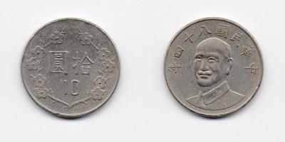 10 dollars 1995