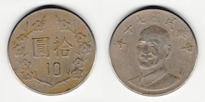 10 dollars 1981